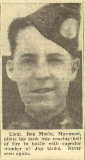 Lt. Ben Morin