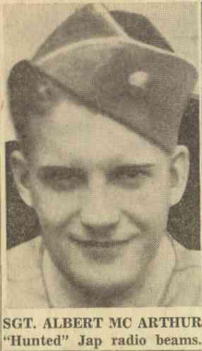 Sgt. Albert McArthur